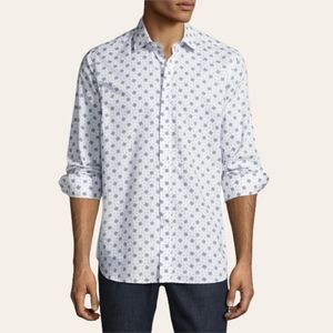R by Robert Graham Limited Edition Rare Chess Board Sport Shirt